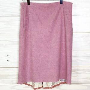 Anthropologie Elevenses Fit and Flare Skirt Sz 8